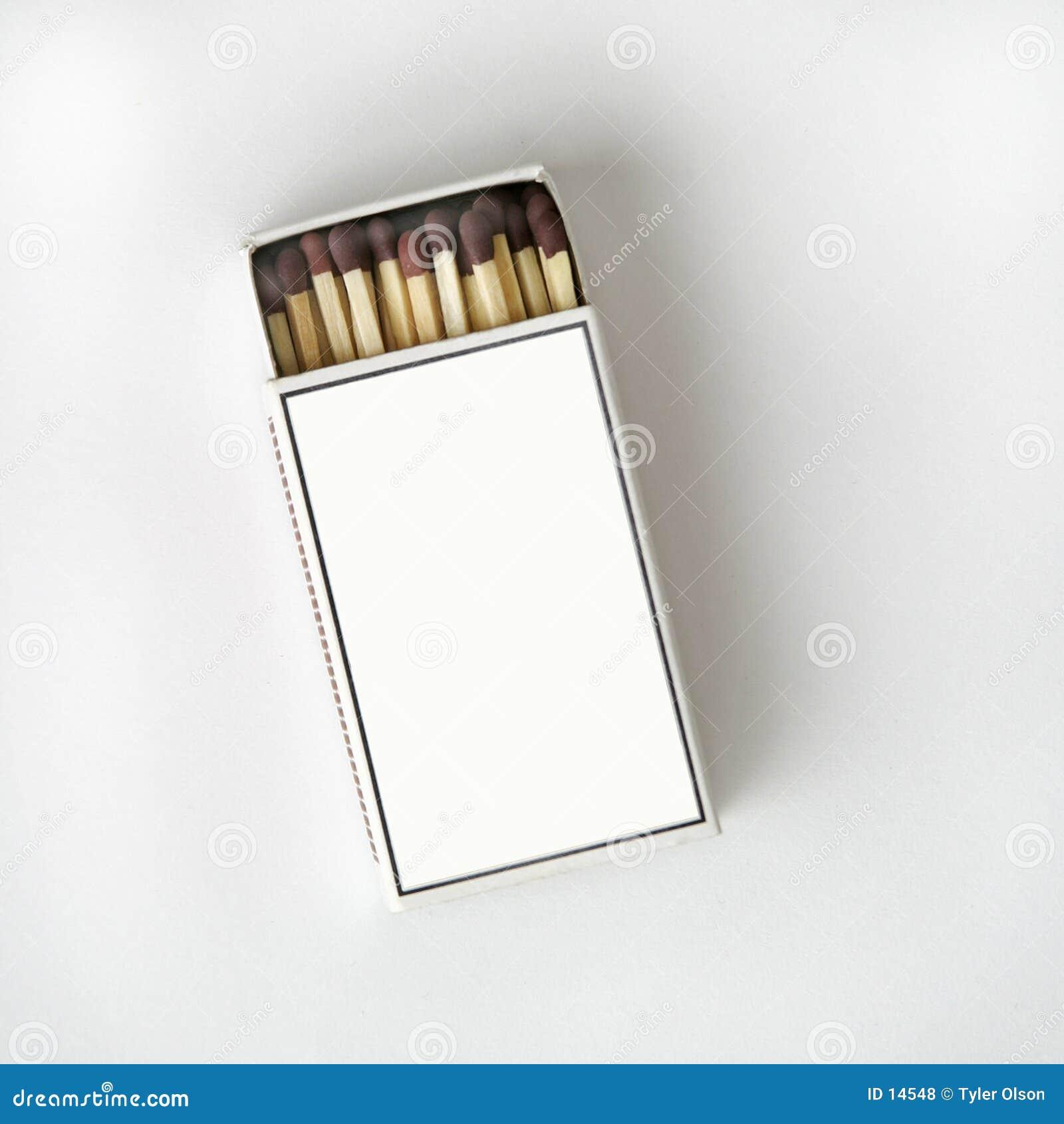 Match Box on White