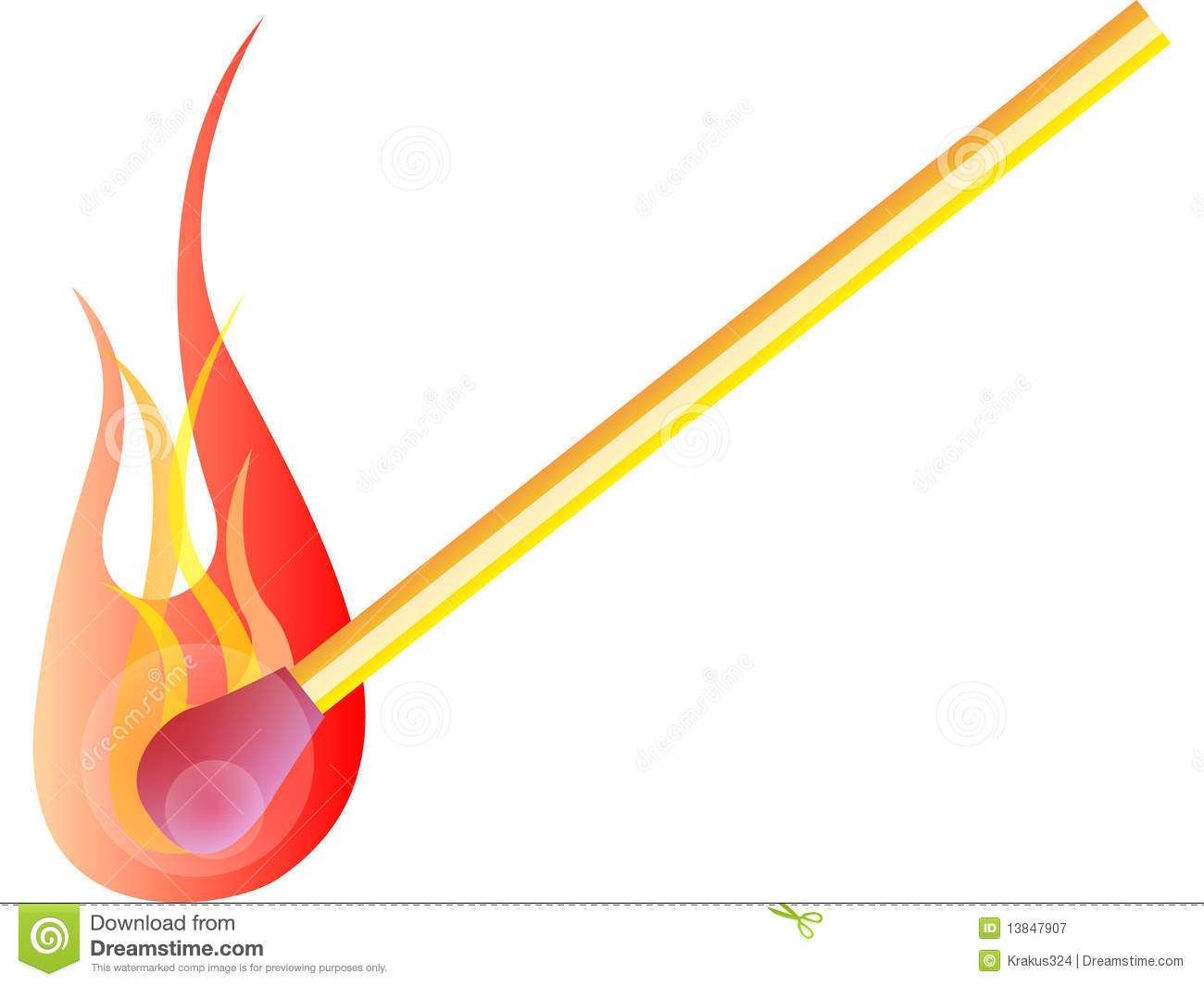 Match Flame Royalty Free Stock Photography - Image: 13847907