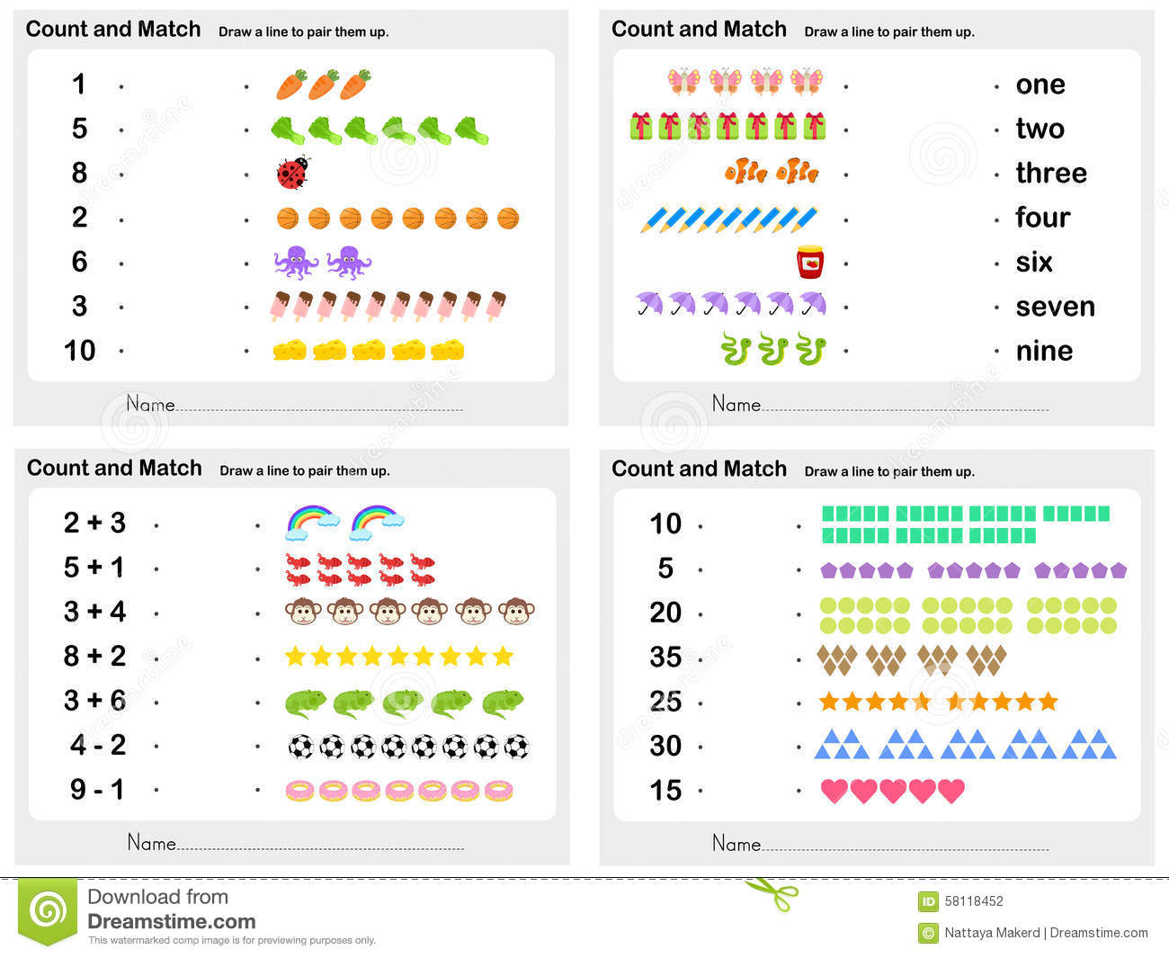 Matchmaking by numbers