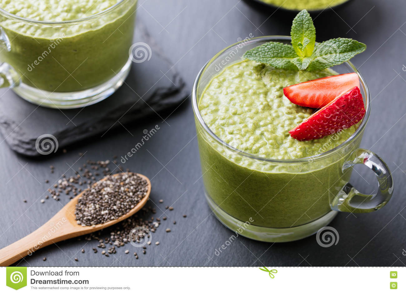 How to Make Matcha Green Tea Chia Pudding forecasting