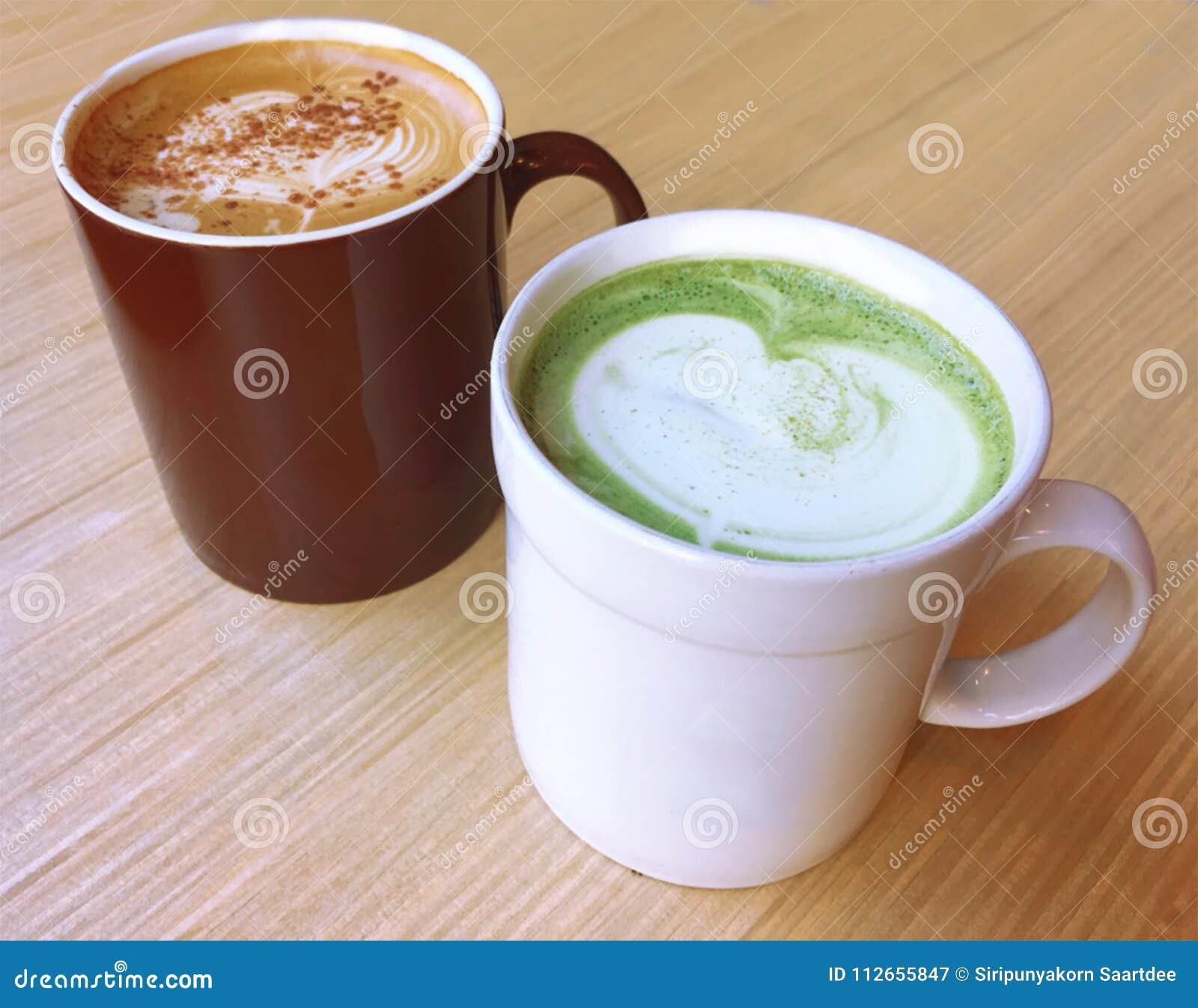Matcha Latte,Green Tea Latte,Creamy Coffee , Cappuccino