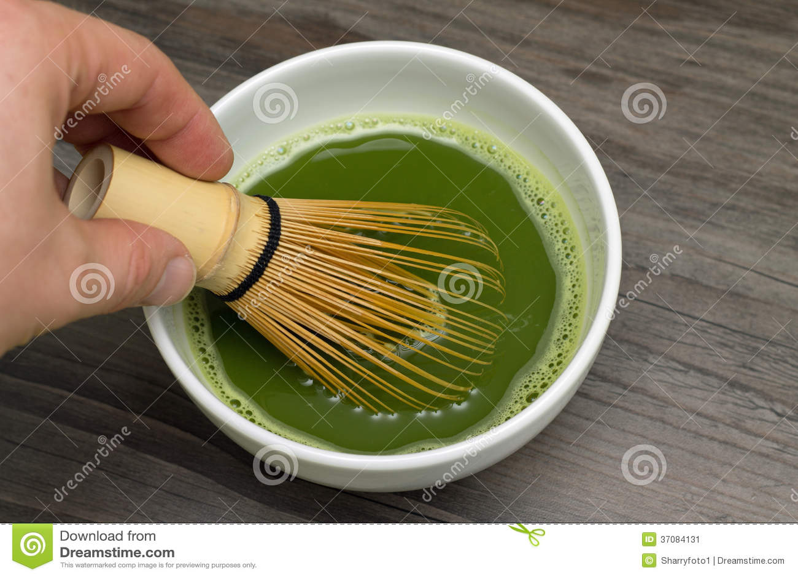Download Matcha zielona herbata obraz stock. Obraz złożonej z przyjemność - 37084131