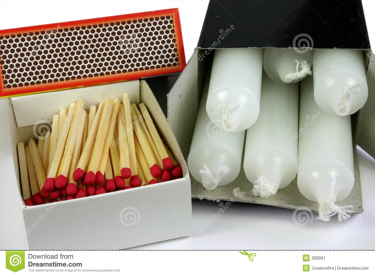 Matches and Candles