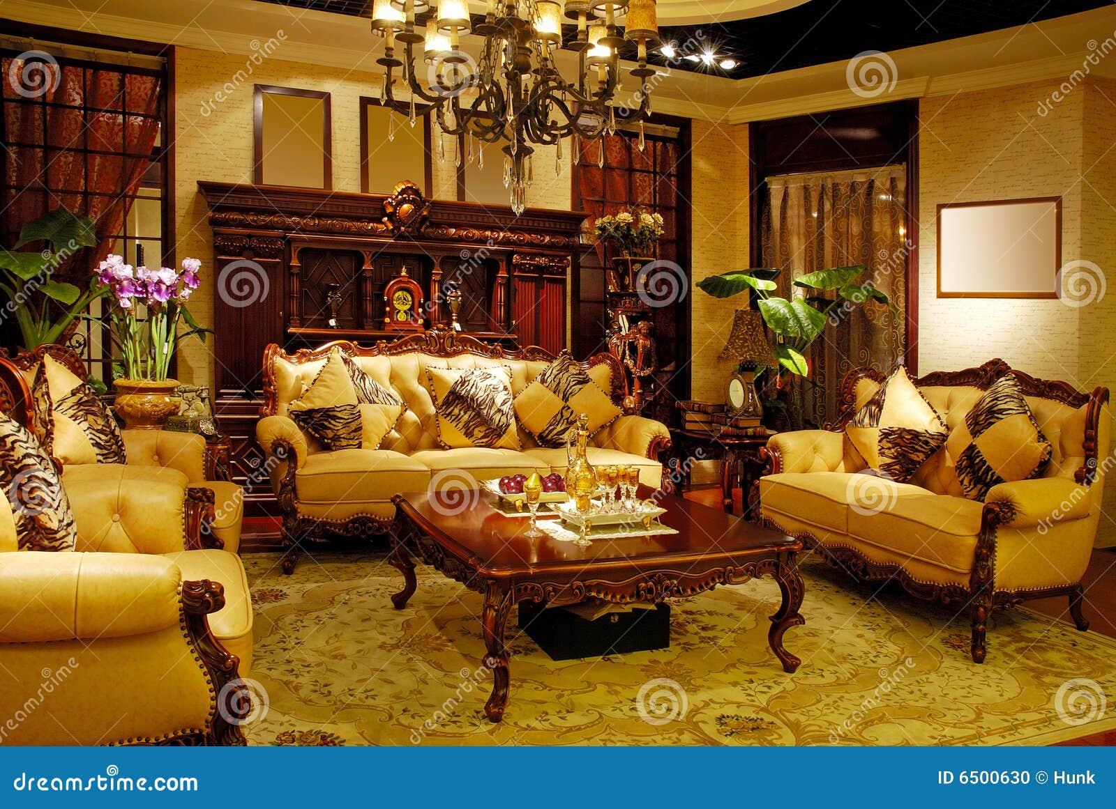 Matching Antique Furniture Stock Photo Image 6500630