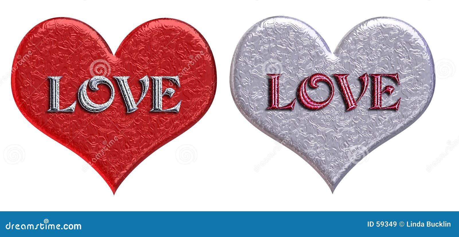 Matching  LOVE  Hearts