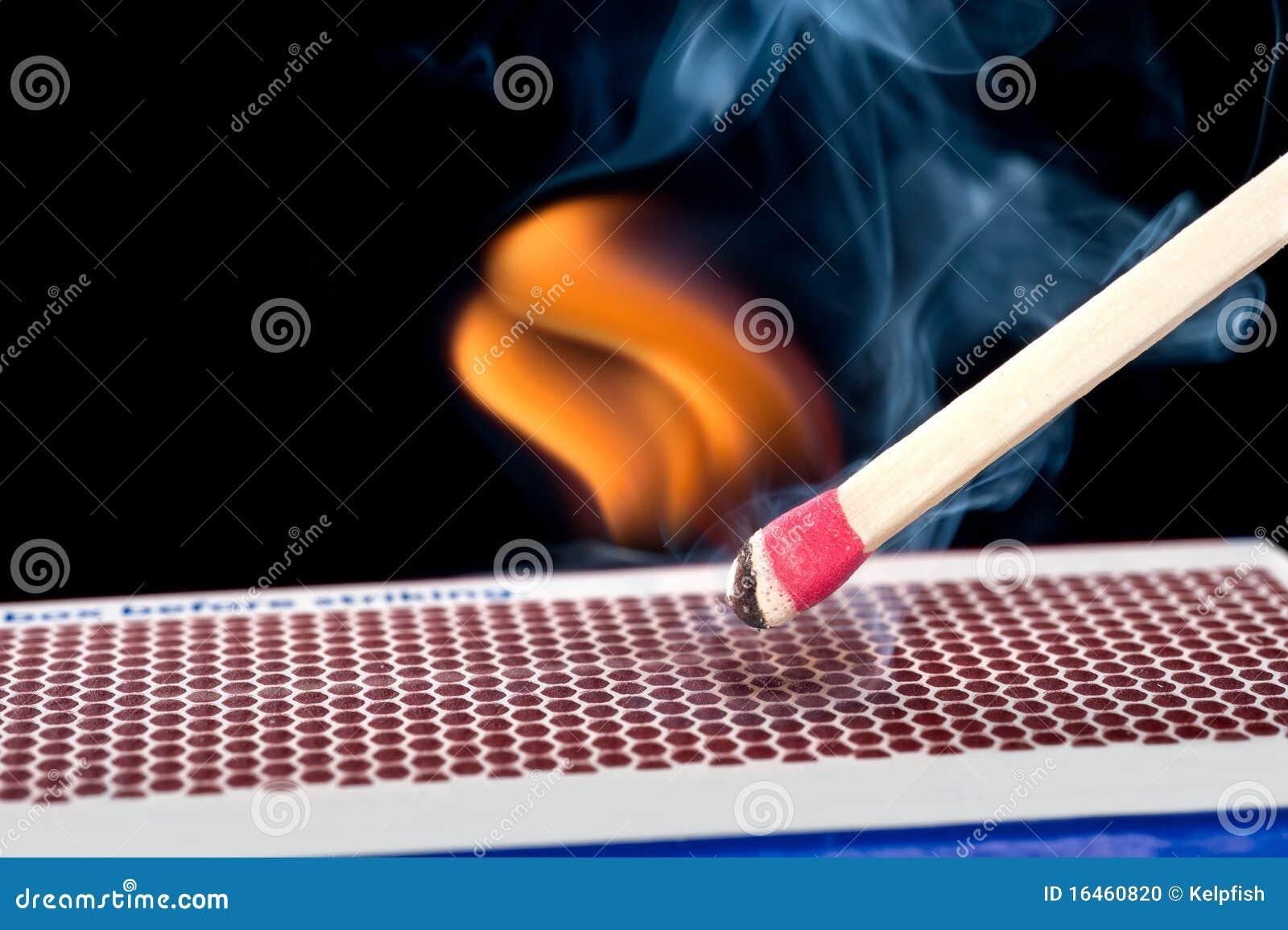 Matchstick στην πυρκαγιά