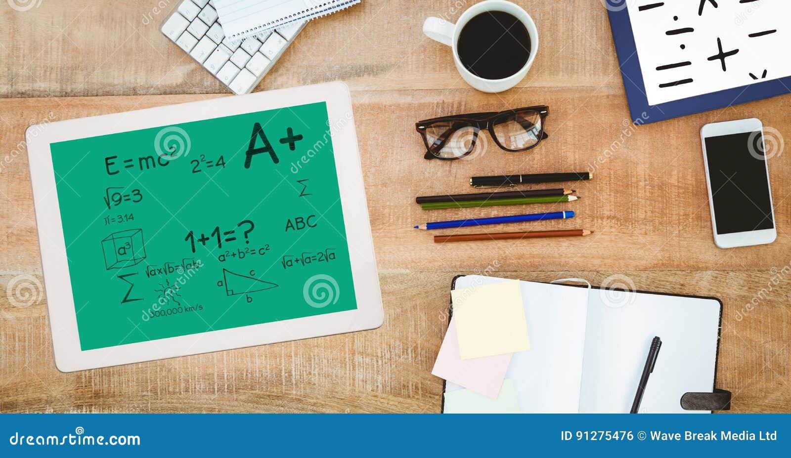 Matematiklikställande på den digitala minnestavlan vid brevpapper