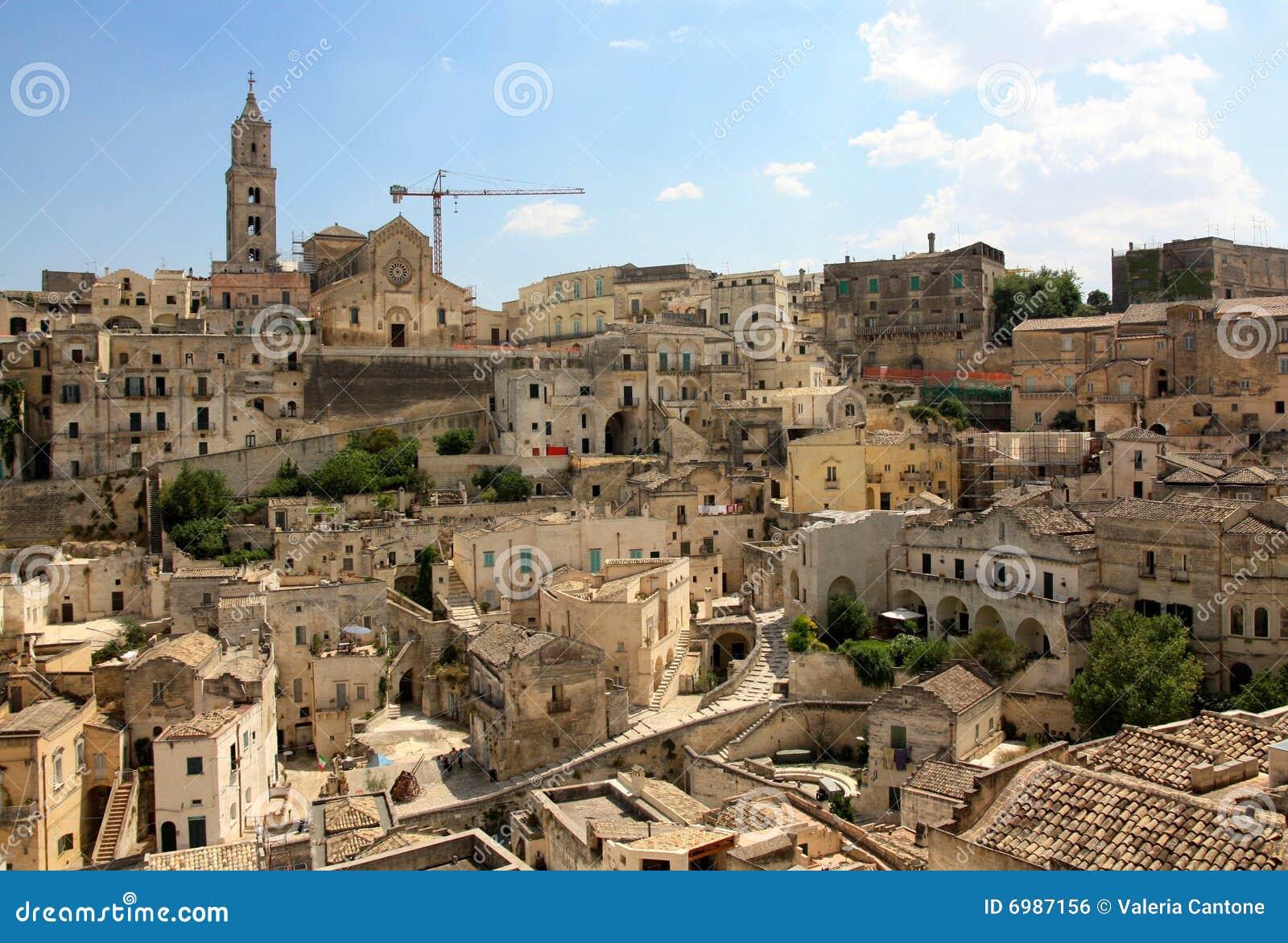 Matera, Basilicata, Italy Royalty Free Stock Image - Image: 6987156