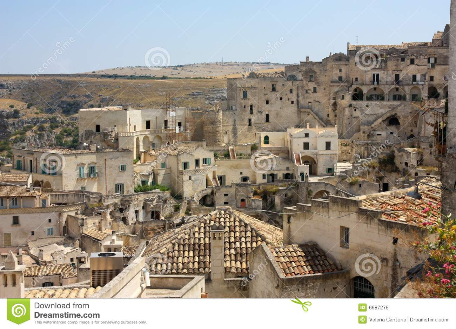 Matera, Basilicata, Italy Royalty Free Stock Photo - Image: 6987275