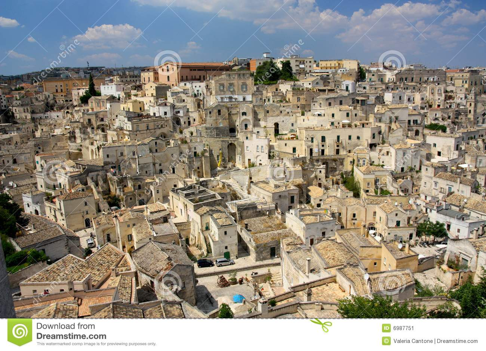 Matera, Basilicata, Italy Stock Image - Image: 6987751