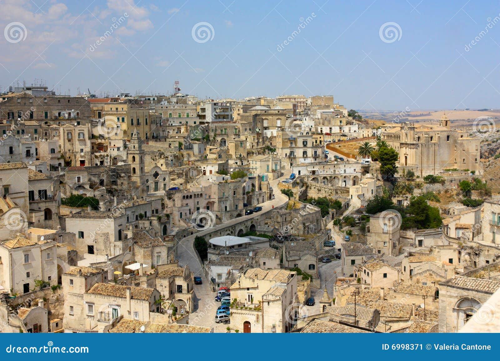 Matera, Basilicata, Italy Stock Image - Image: 6998371