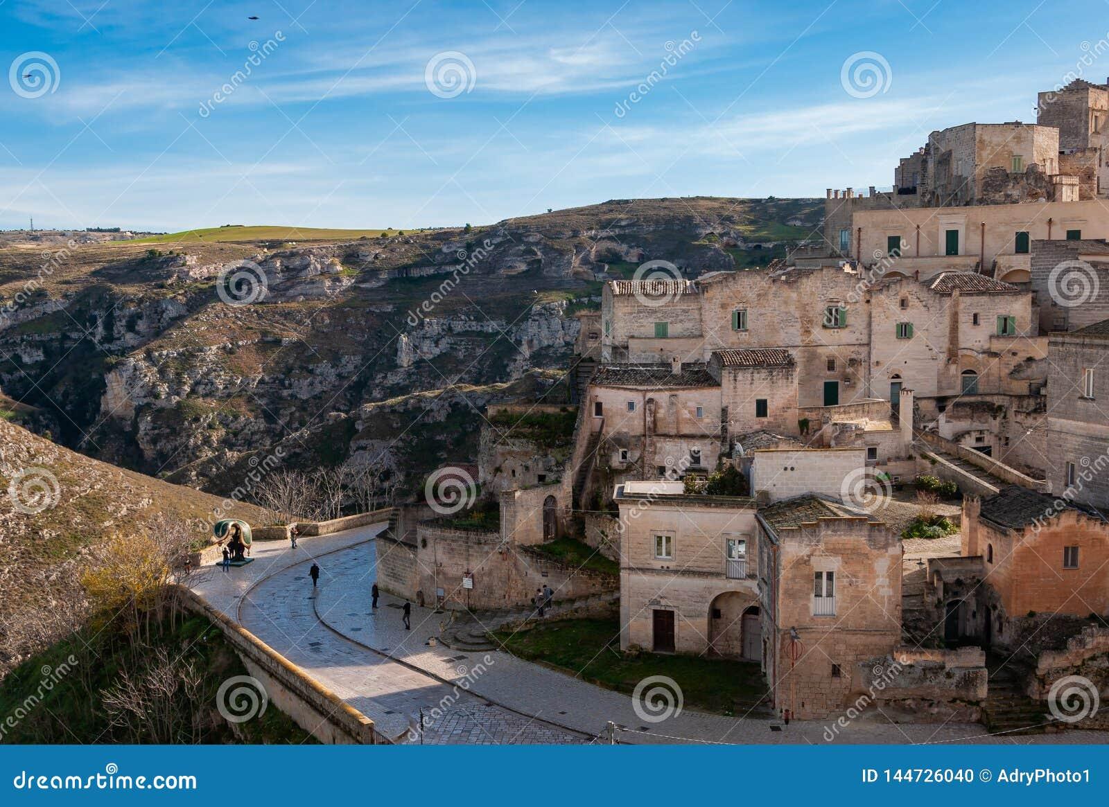 Matera, capitale europea di cultura 2019 La Basilicata, Italia
