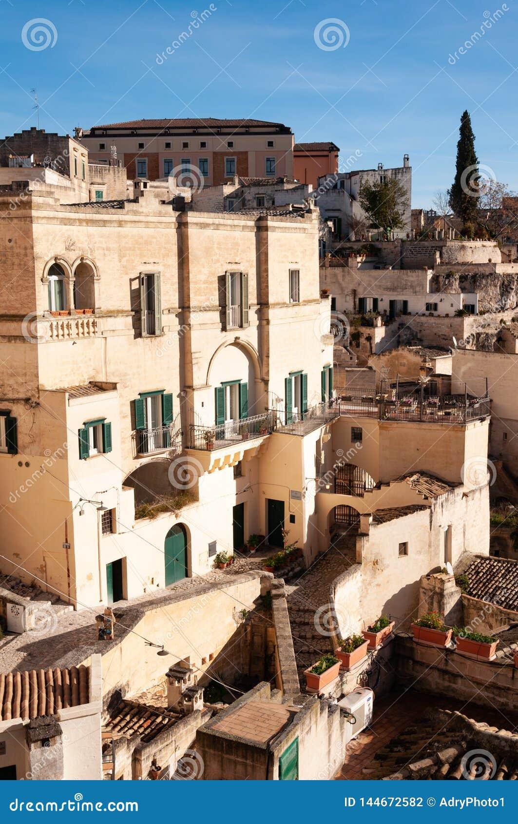 Matera, Europees kapitaal van cultuur 2019 Basilicata, Italië