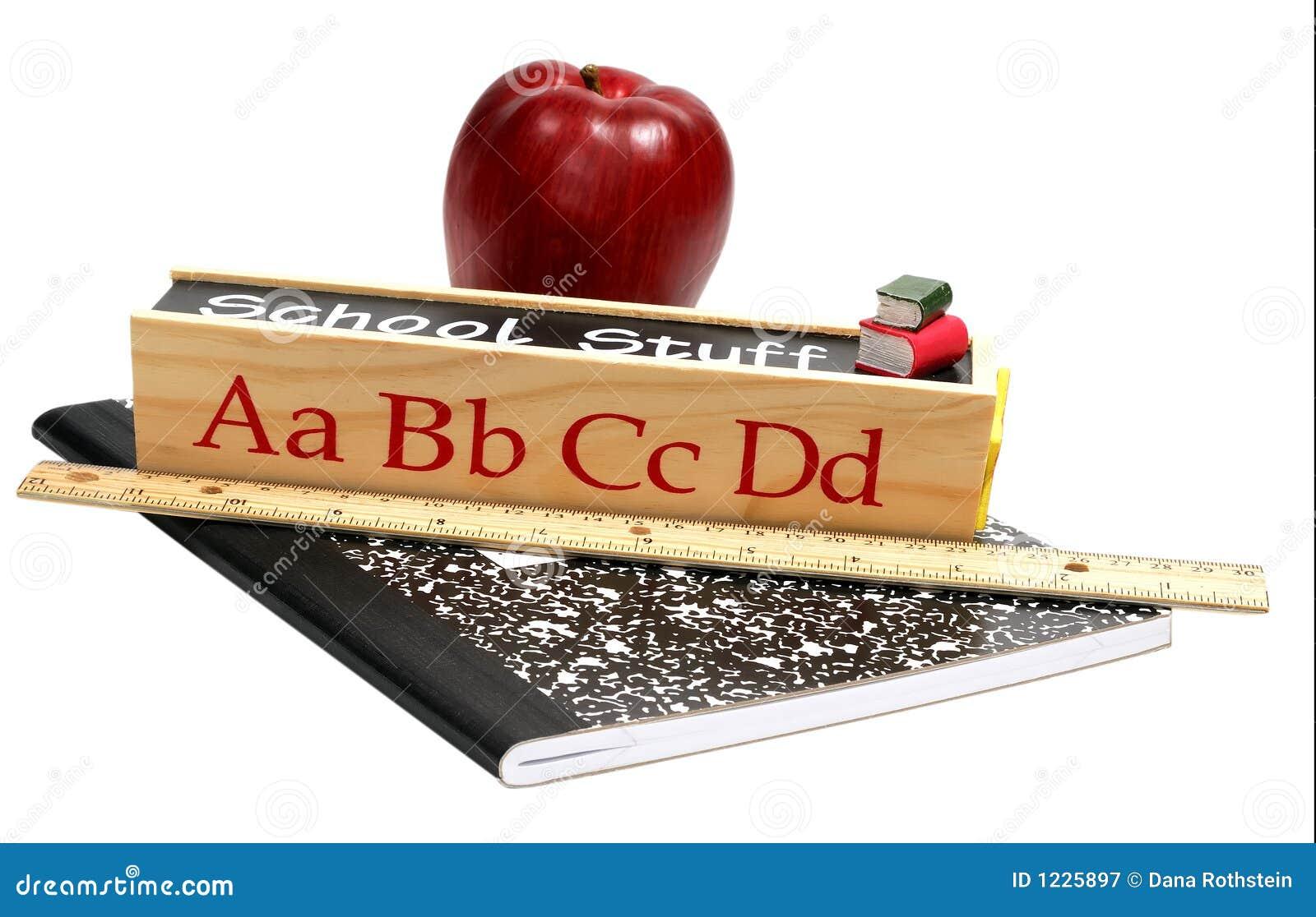 Materia de la escuela