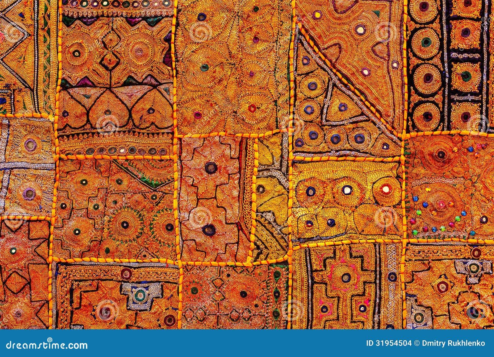 Materia textil india colorida de la tela india foto de - Telas de la india online ...
