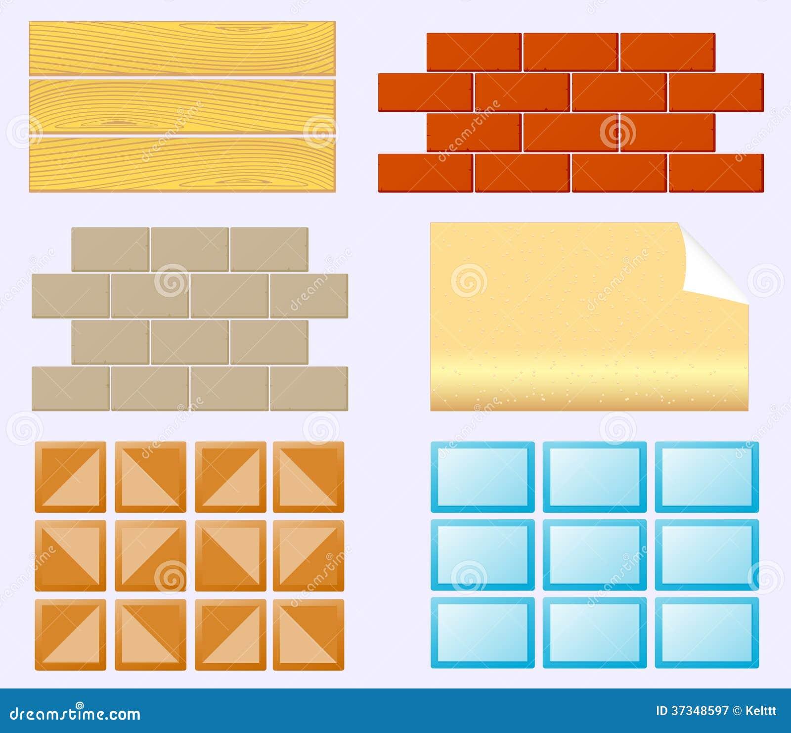 Materiais do revestimento para a renovação home