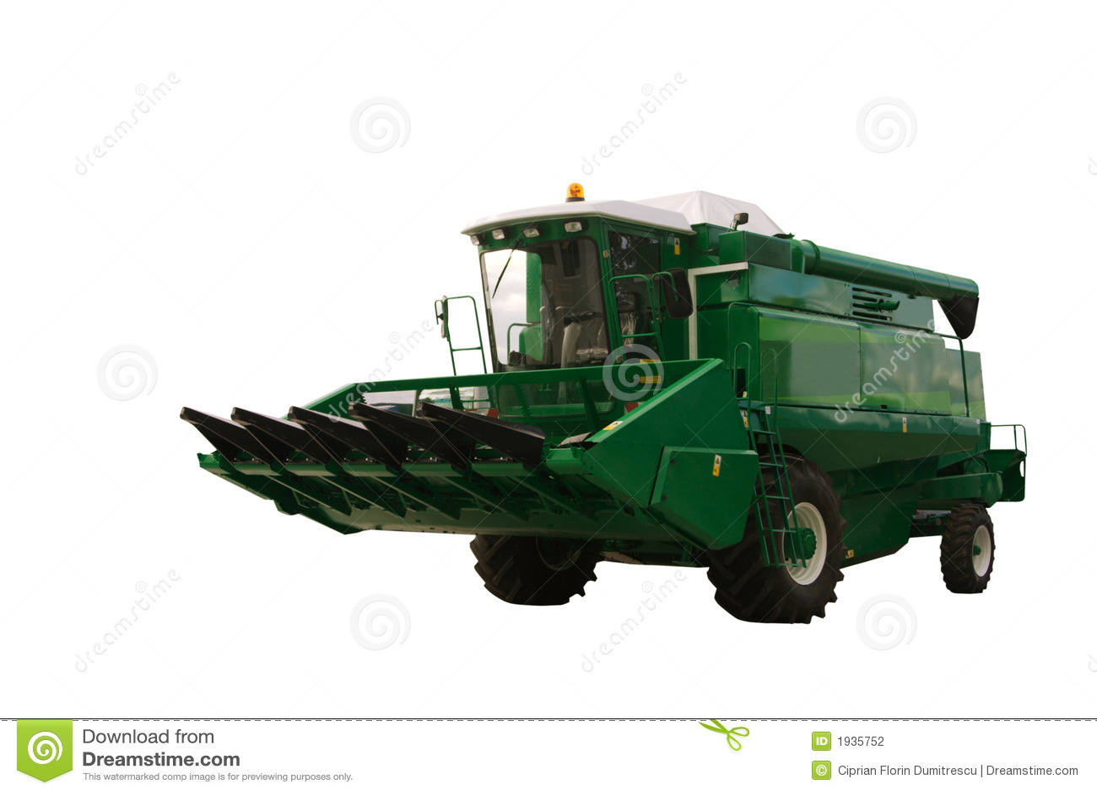 Material agrícola verde