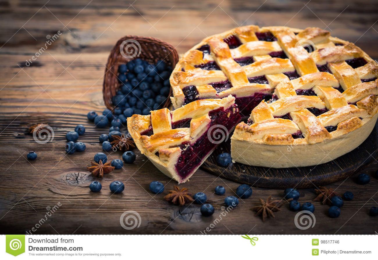 Material: blåbär gräddfil, socker, två ägg
