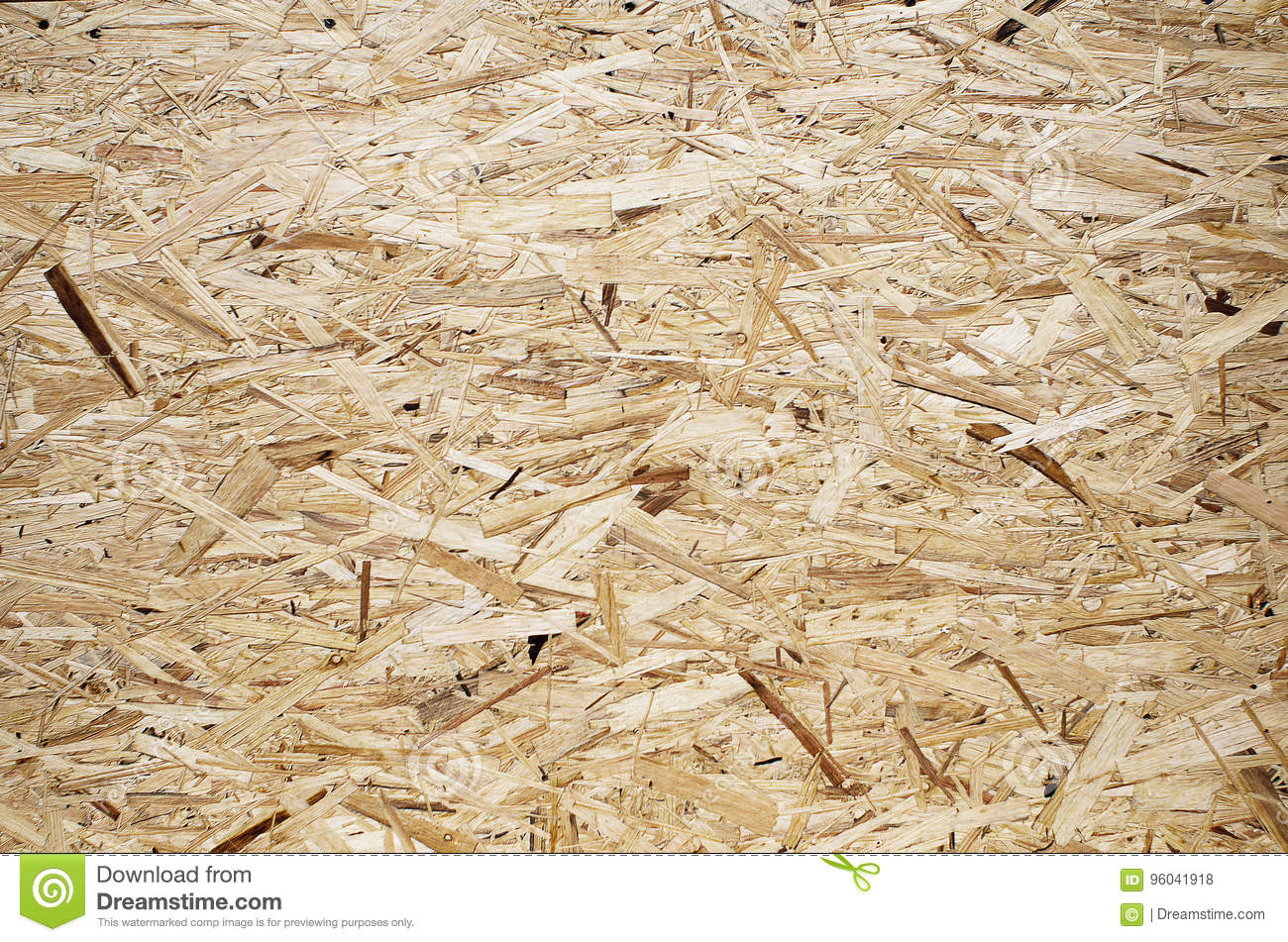 Material From Compressed Wood Shavings  Stock Photo - Image