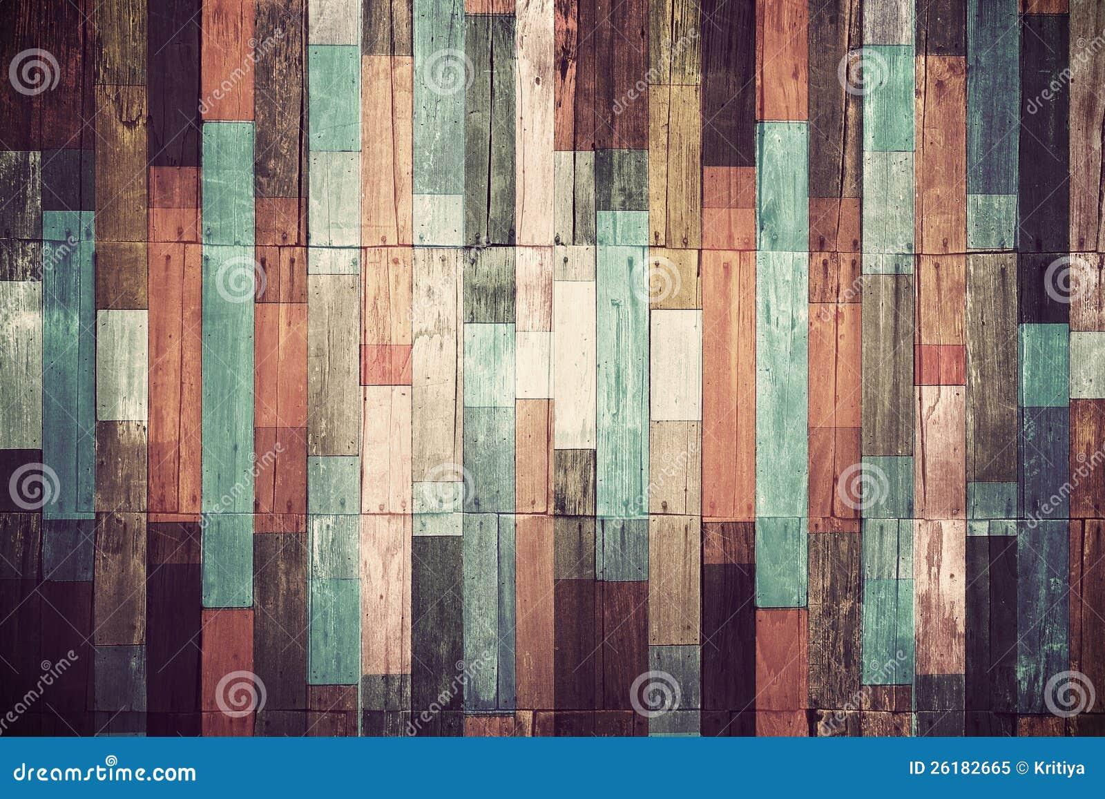 Material de madera para el papel pintado de la vendimia