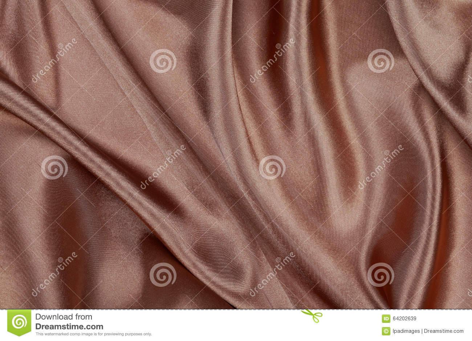 Material de seda o papel pintado elegante del terciopelo del satén de la textura de Brown