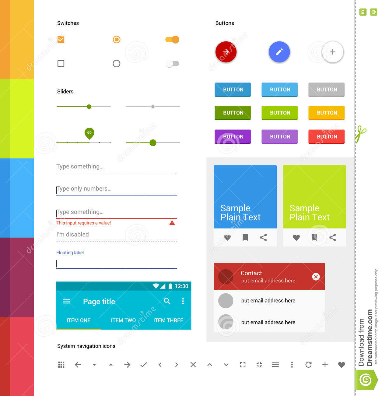 android ui elements