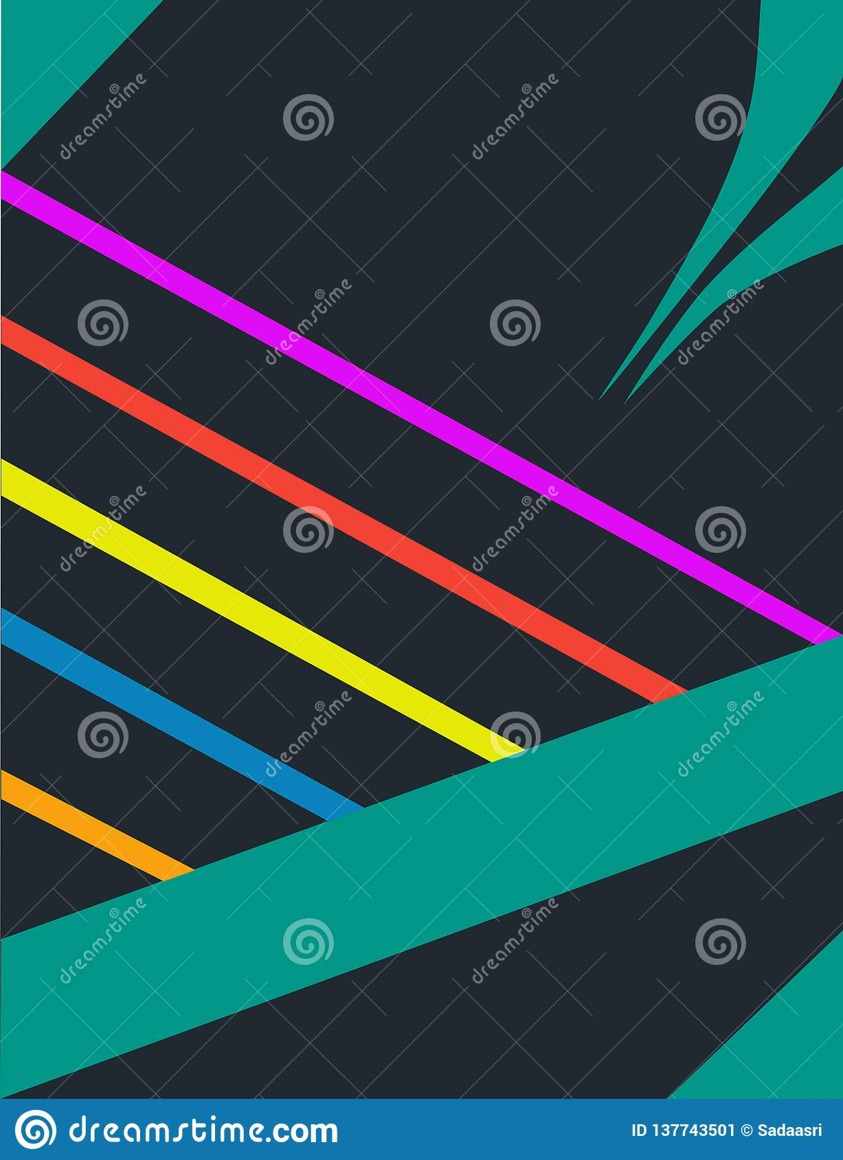 Material design wallpaper for user interfaces
