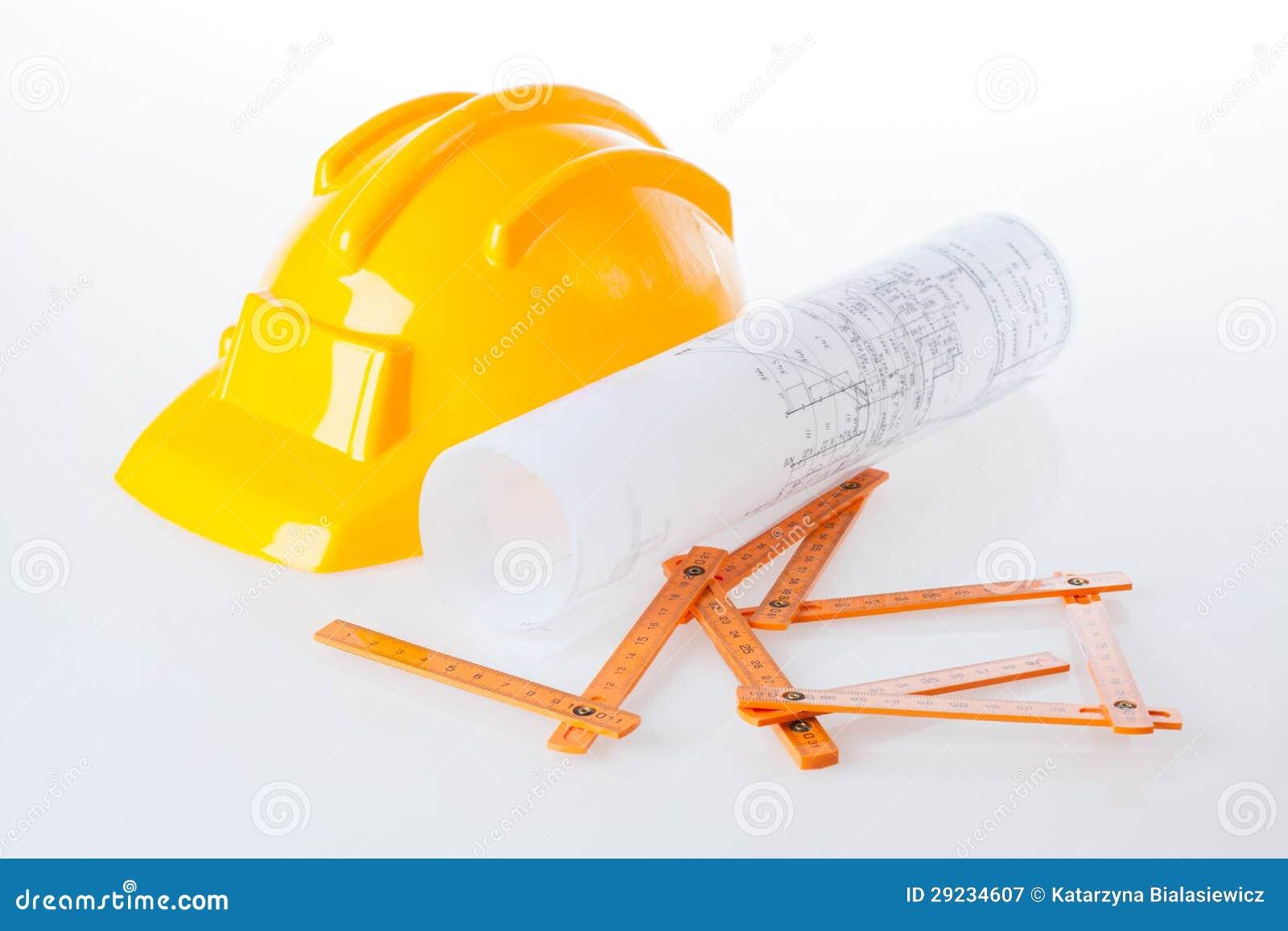 Download Material do arquiteto imagem de stock. Imagem de medida - 29234607