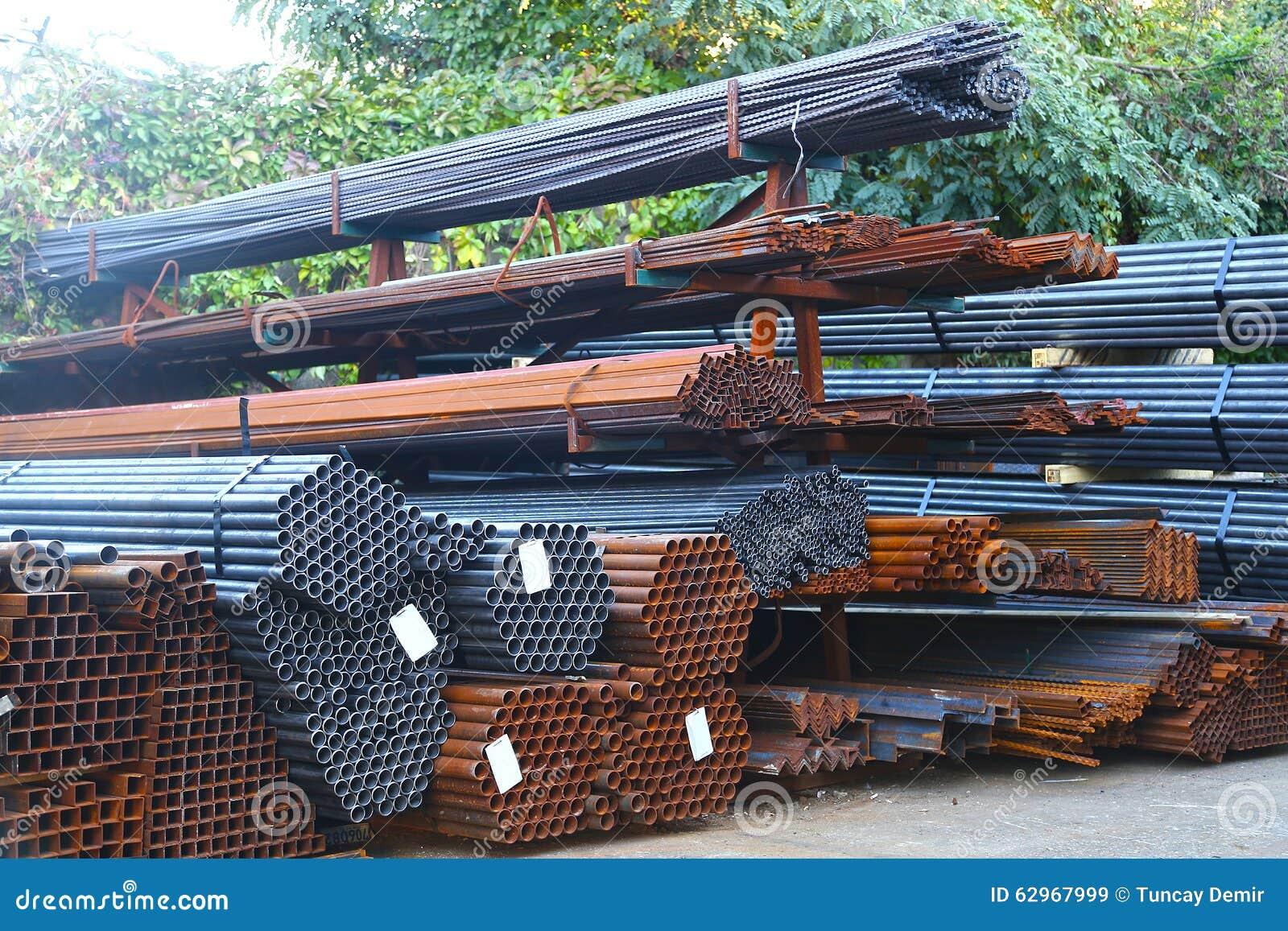 Material för byggnad för järn för konstruktionsjobbplats