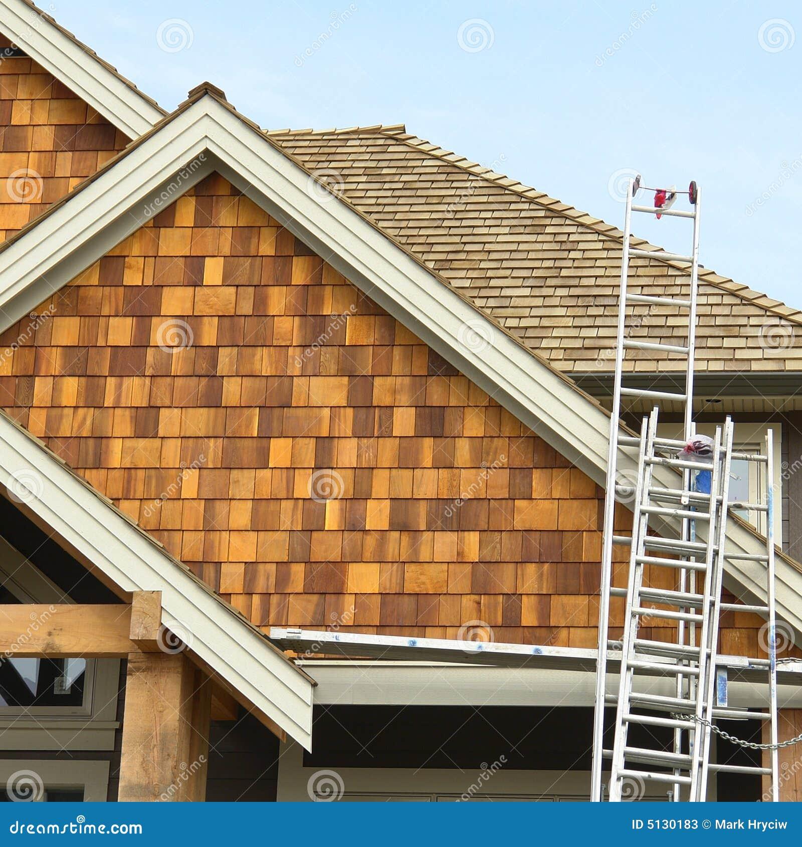 material para techos casero del apartadero de la casa