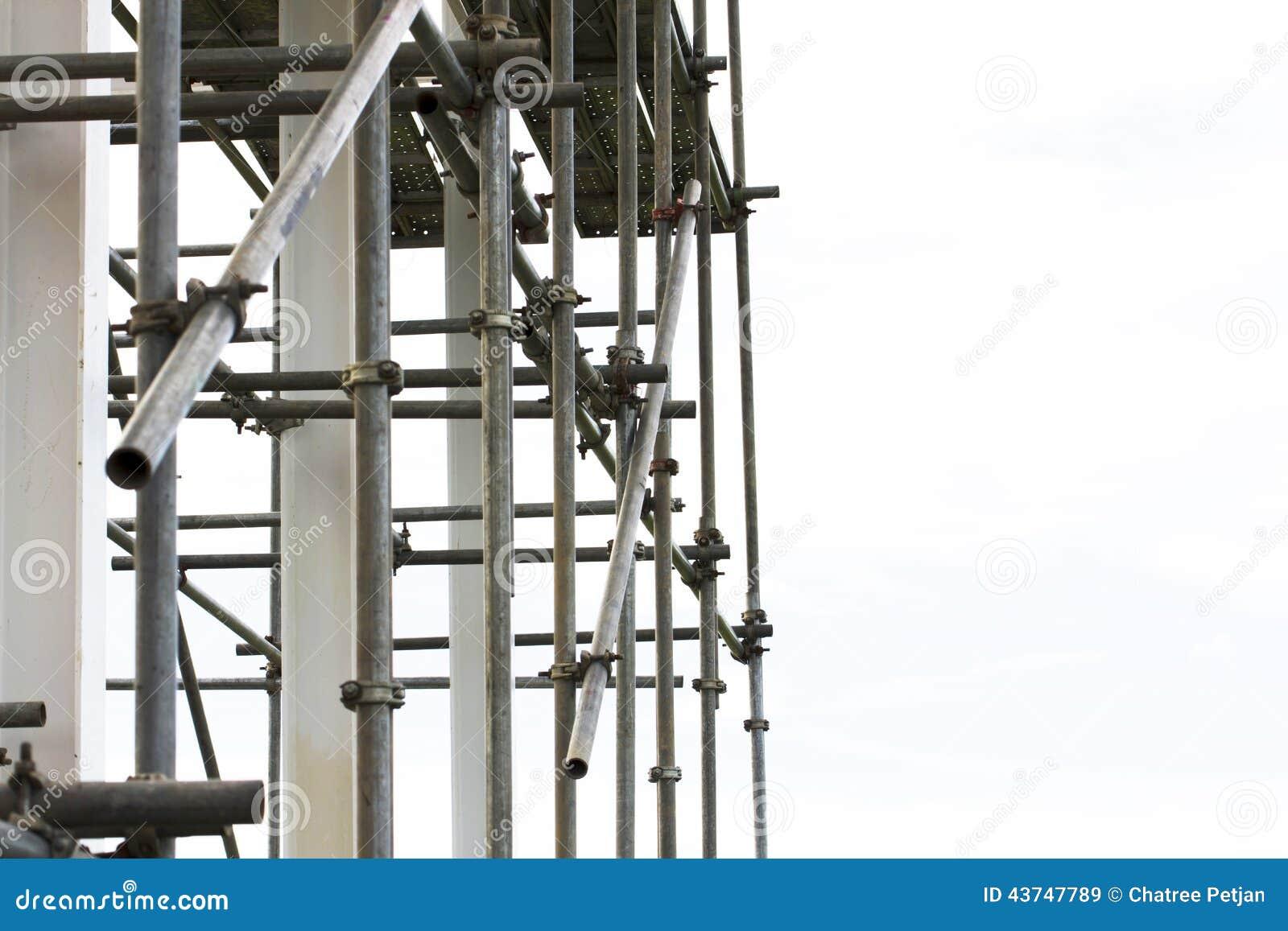 Material till byggnadsställningbeståndsdelar