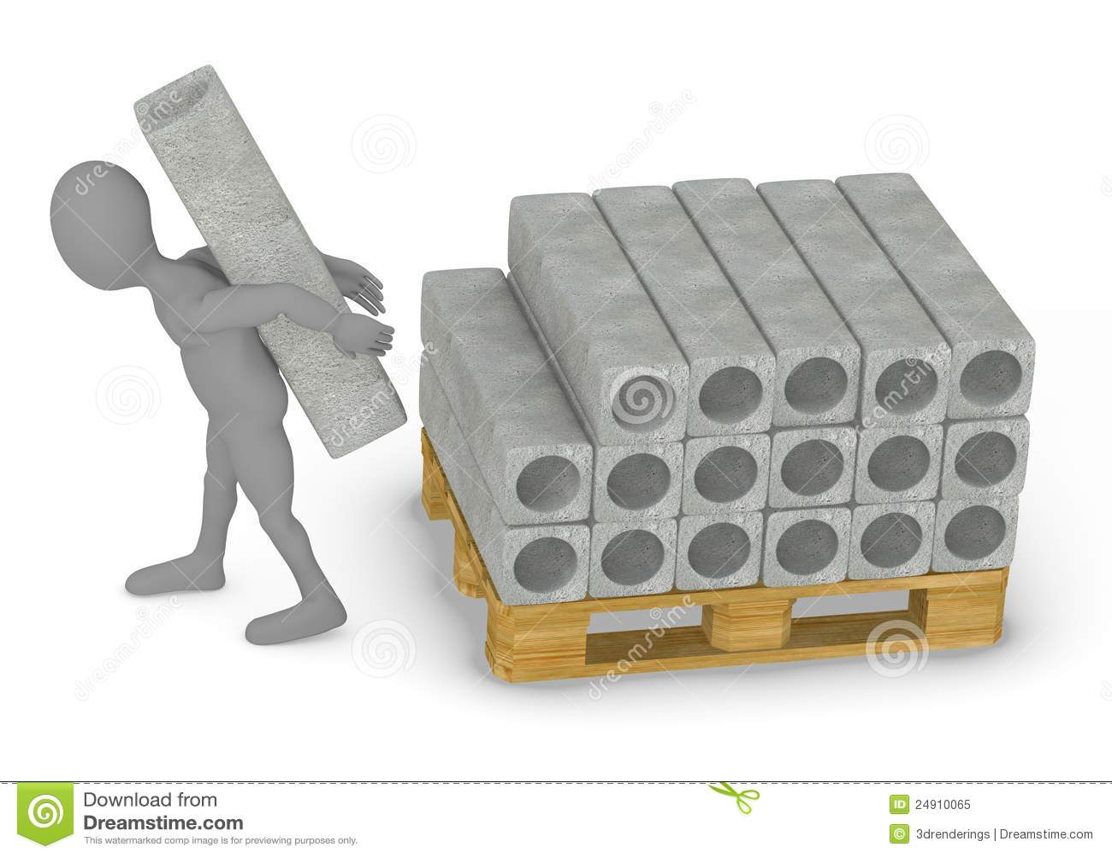 Materiales de construcci n bloques de cemento stock de - Casa de materiales de construccion ...