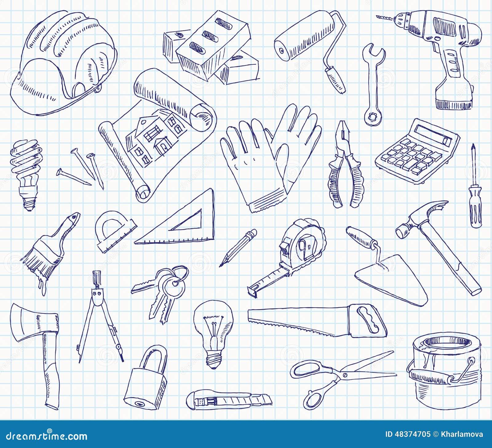 Materiales De Construccion Dibujos