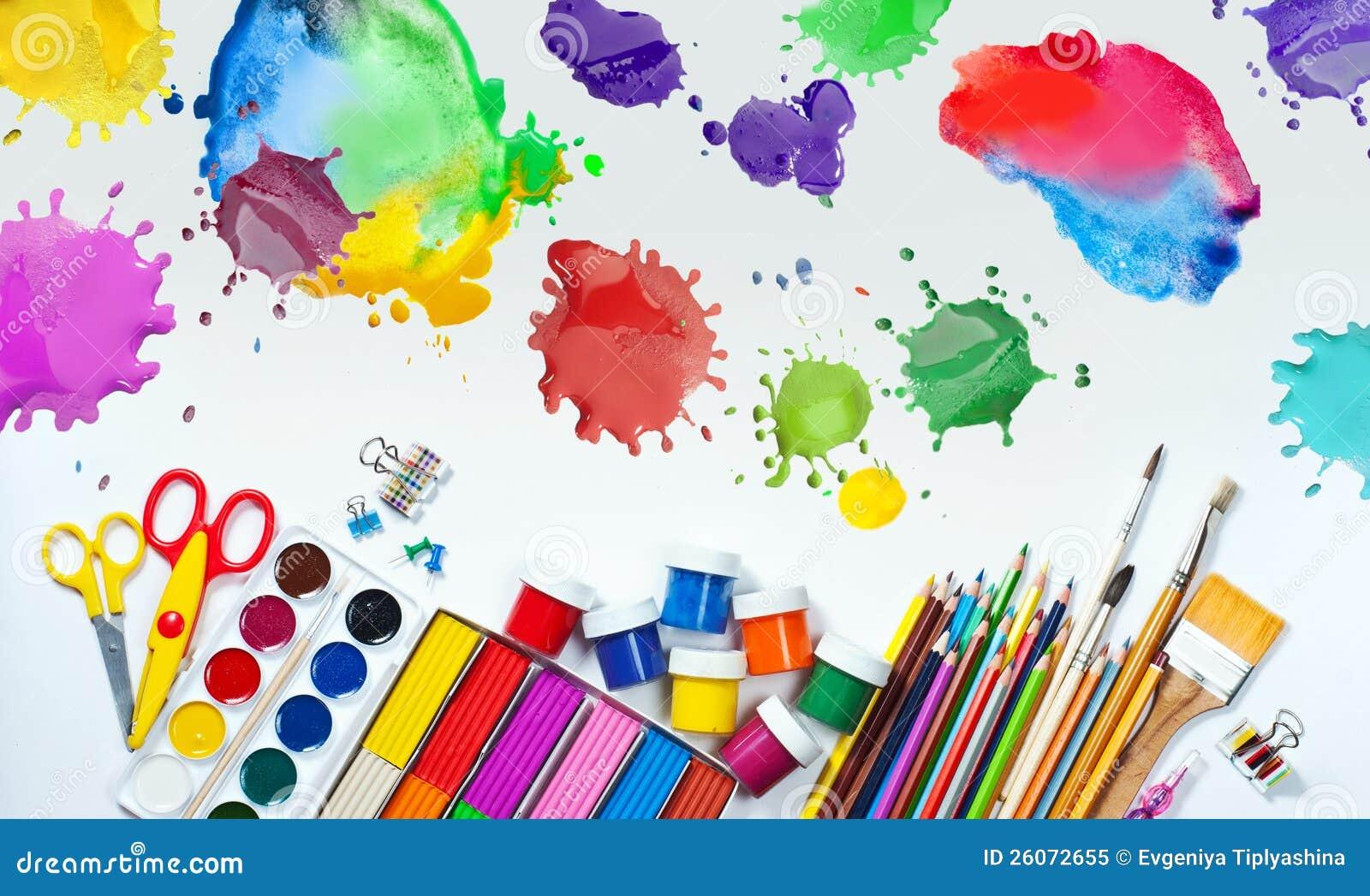 """Ubicacion Marcador Logo Material De Imagen Creativo: ARTES PLÁSTICAS """"CAJITA DE COLORES"""": RECURSOS"""