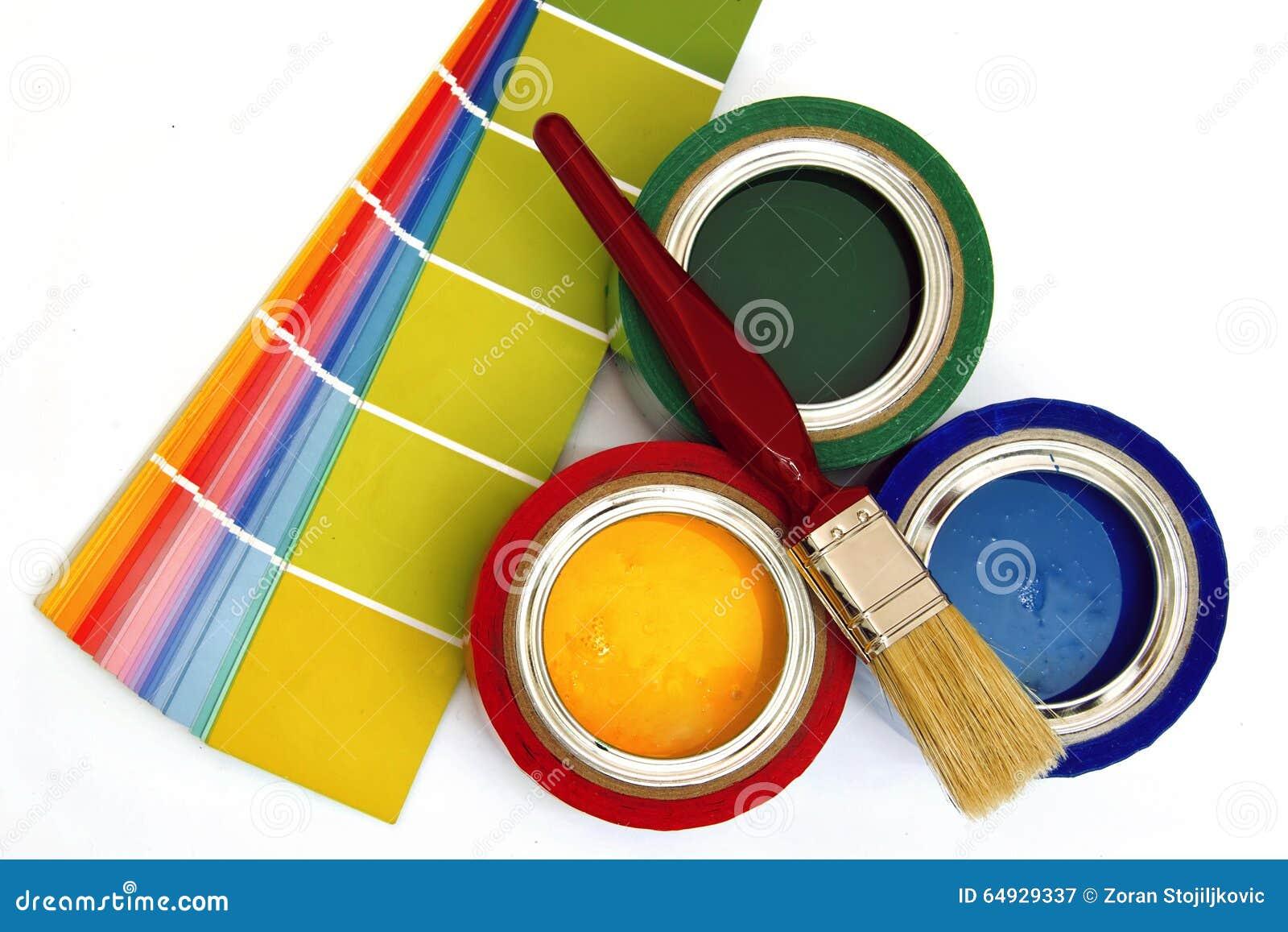 Materiales y fuentes de pintura