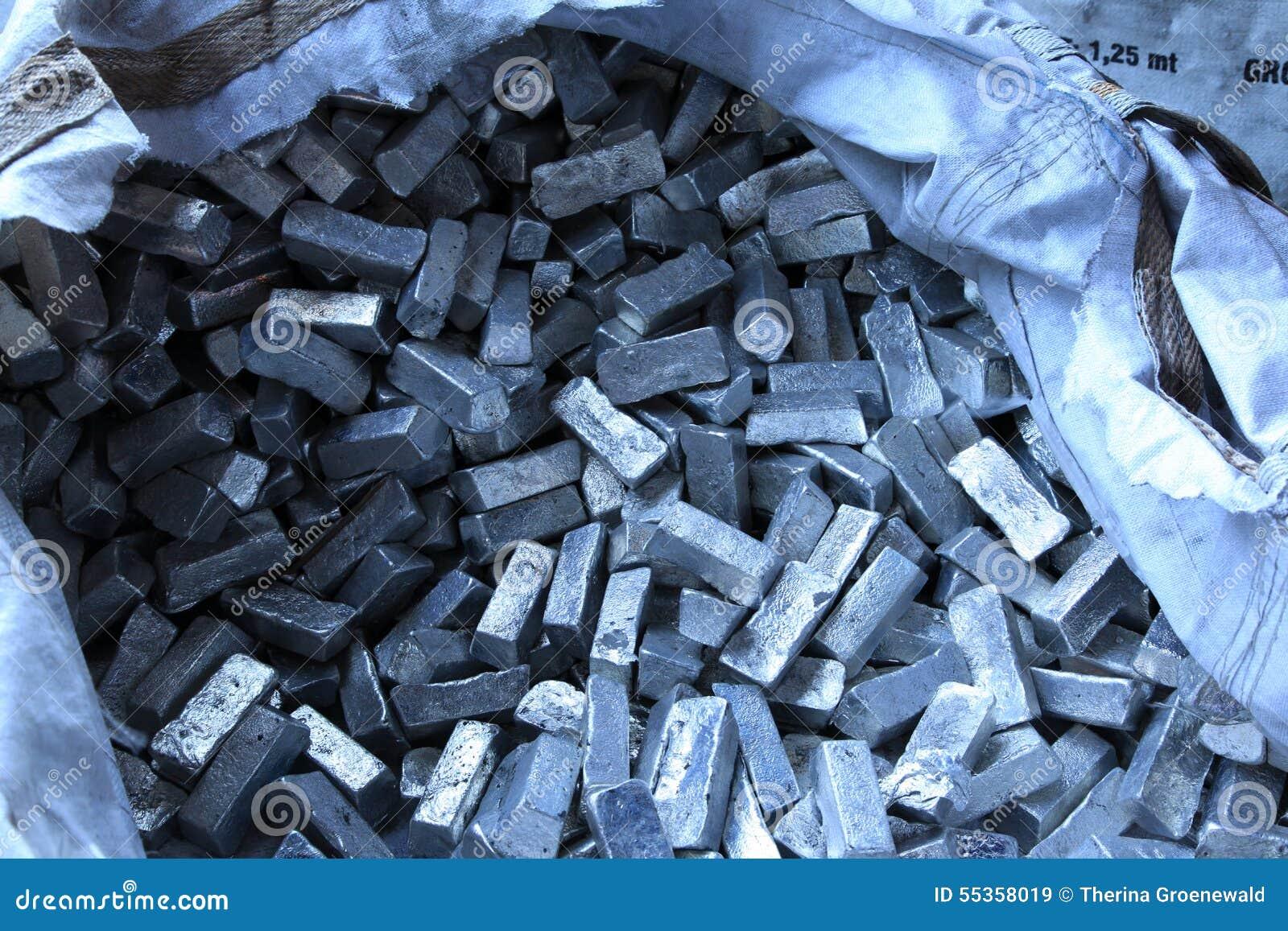 Materiali crudi del metallo