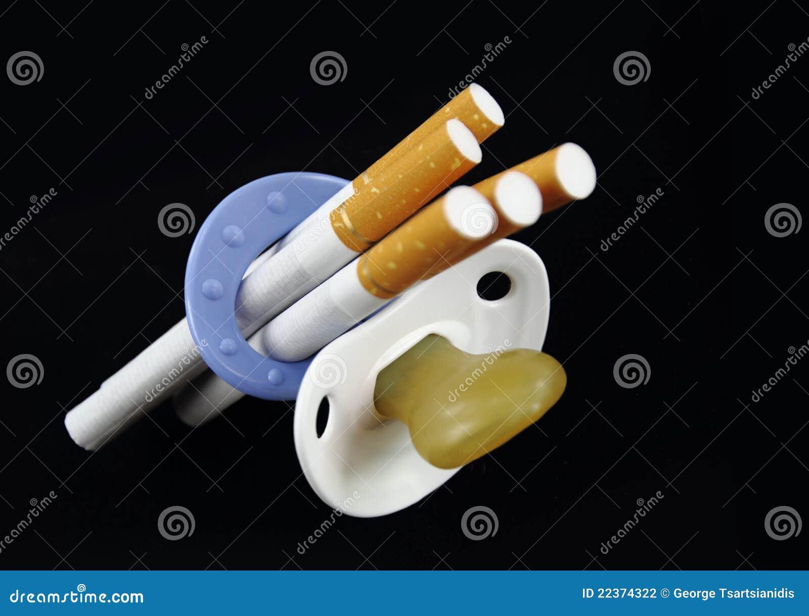 Maternità e sigaretta