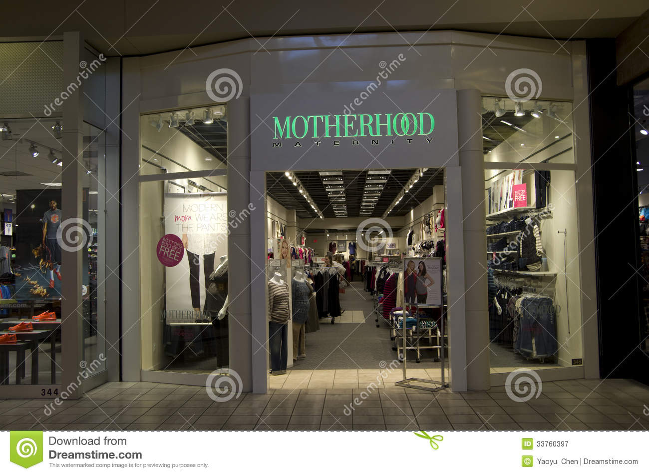 Maternity Clothing Store Editorial Photography - Image: 33760397