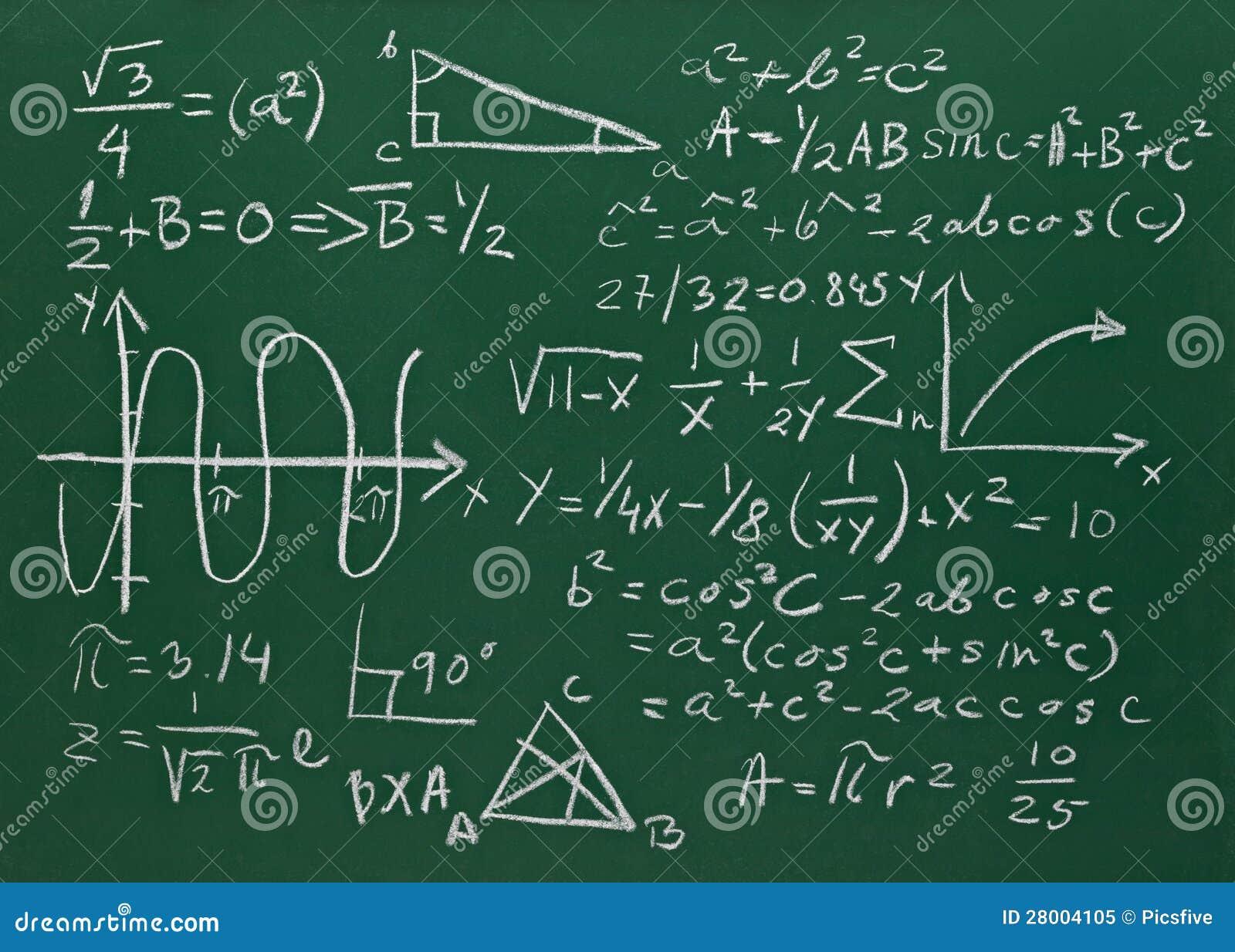 math formulas on school blackboard education royalty free stock photo image 28004105 algebra 2 clipart algebra 2 clipart