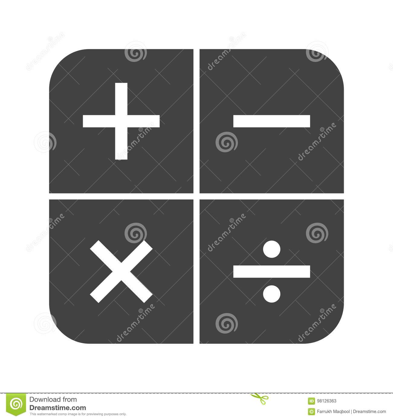 Math symbol i choice image symbol and sign ideas math symbols i stock vector illustration of learning 98126363 math symbols i buycottarizona buycottarizona