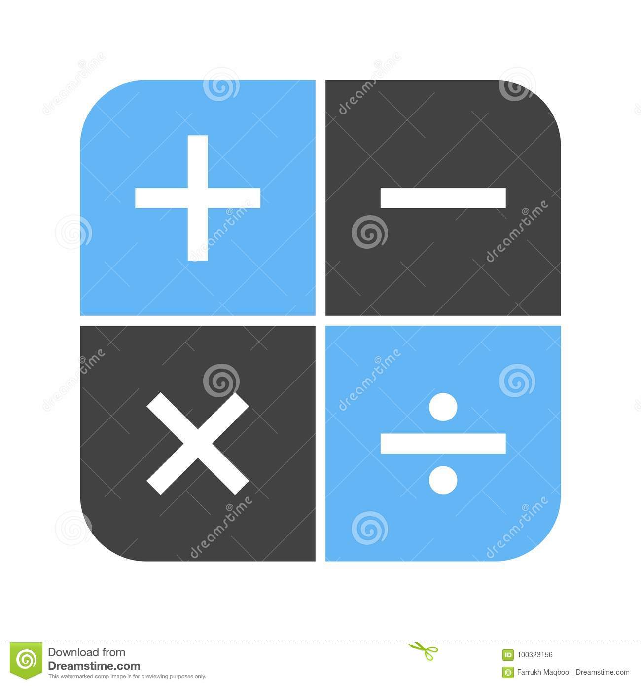 Math symbols i stock vector illustration of learning 100323156 math symbols i buycottarizona