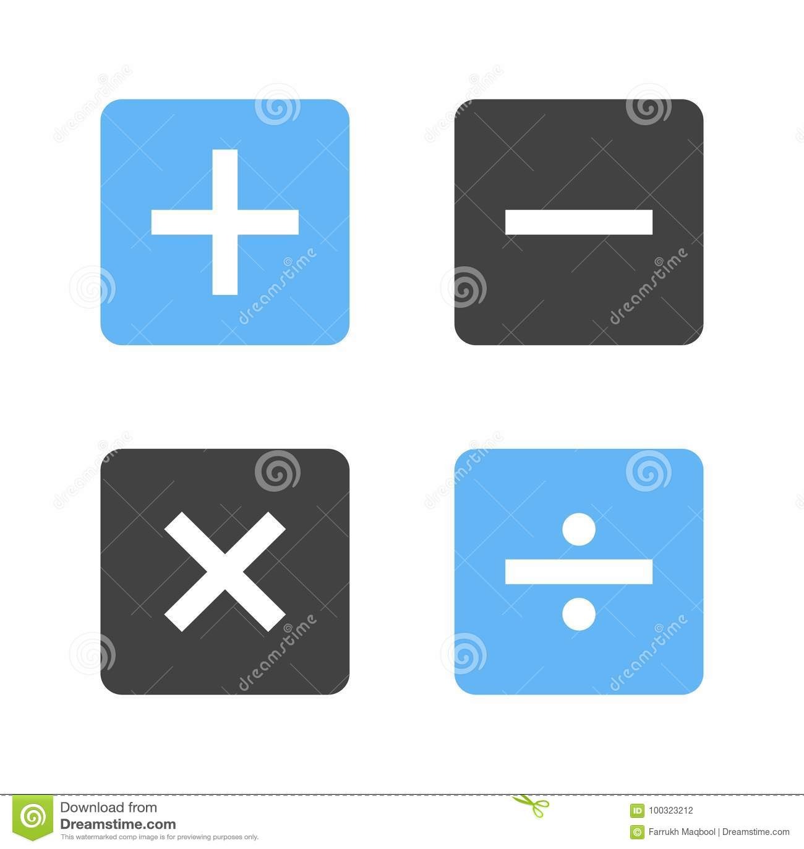 Math symbols ii stock vector illustration of learning 100323212 math symbols ii biocorpaavc Image collections
