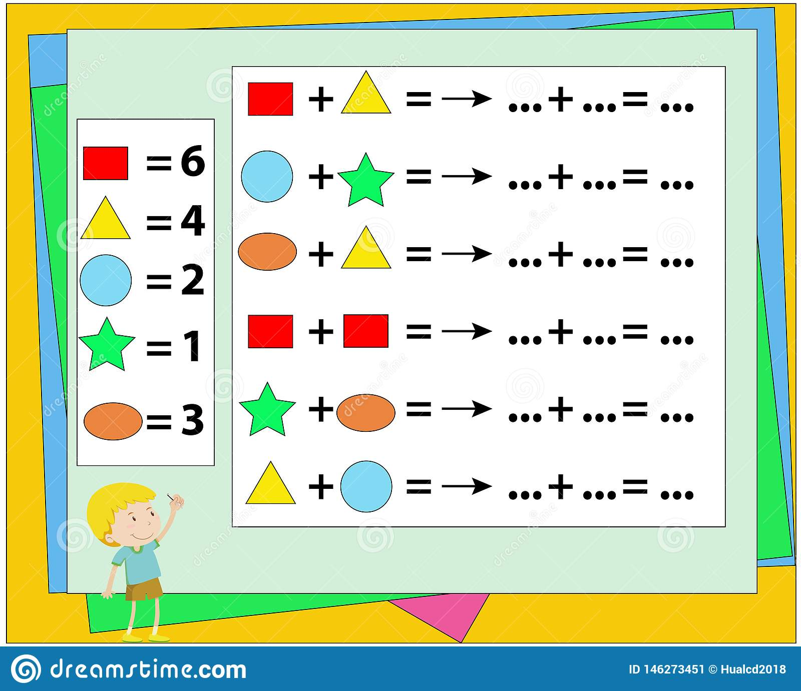 Mathematical Puzzle Game. Learning Mathematics, Tasks For ...