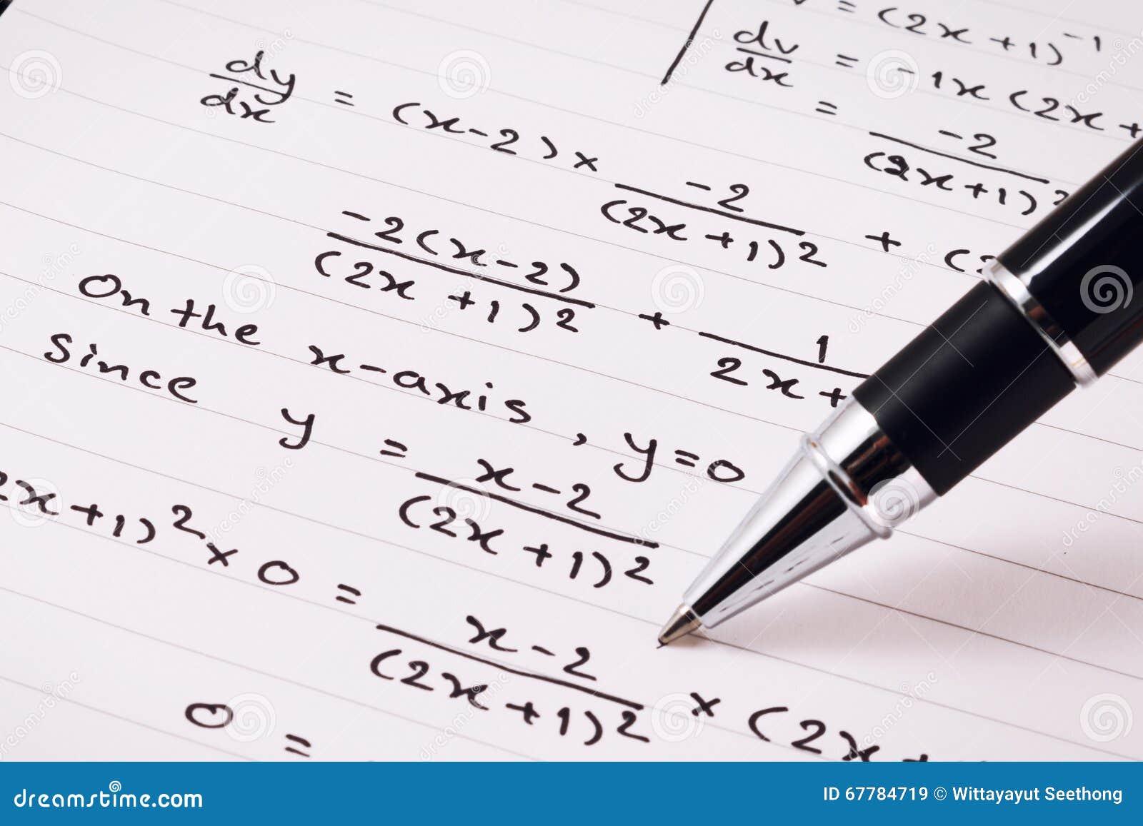 Homework math solver