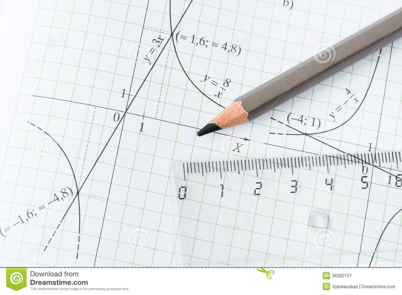 Mathematics exercise stock image. Image of calculation - 36362157