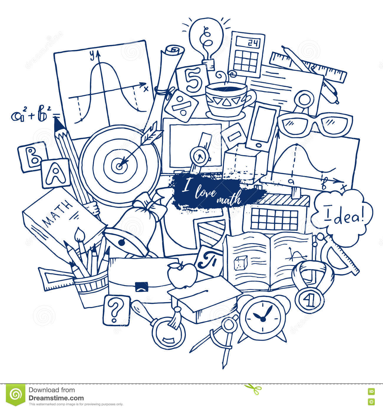 mathematics science stock illustrations  u2013 15 439