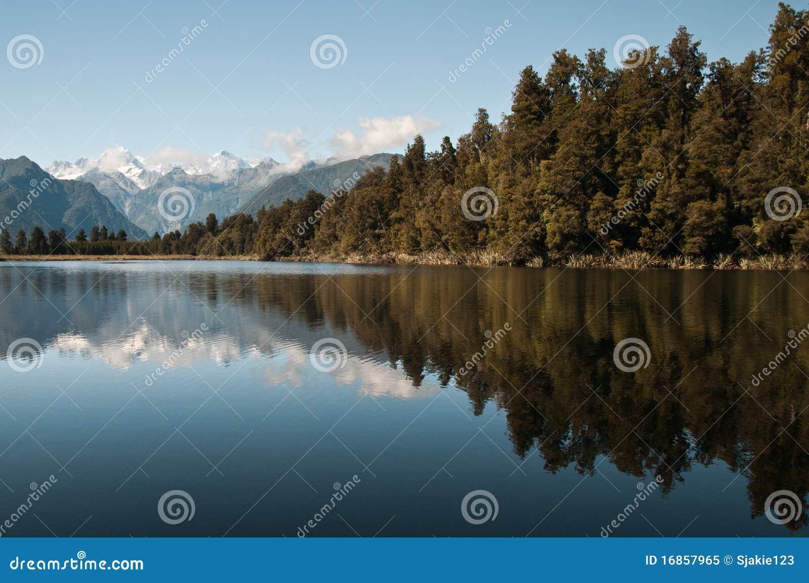Matheson do lago, NZ