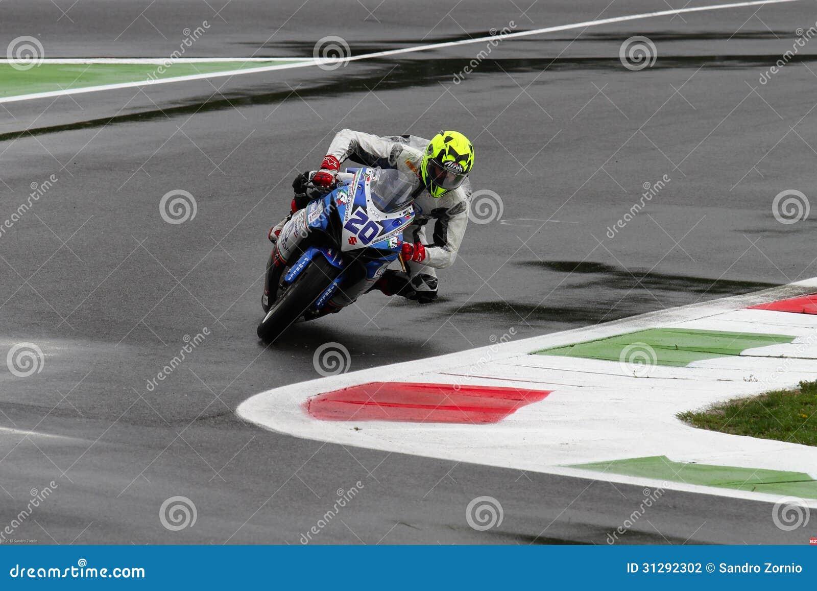 Mathew Scholtz #20 on Suzuki GSX-R 600 NS Suriano Corse Supersport WSS