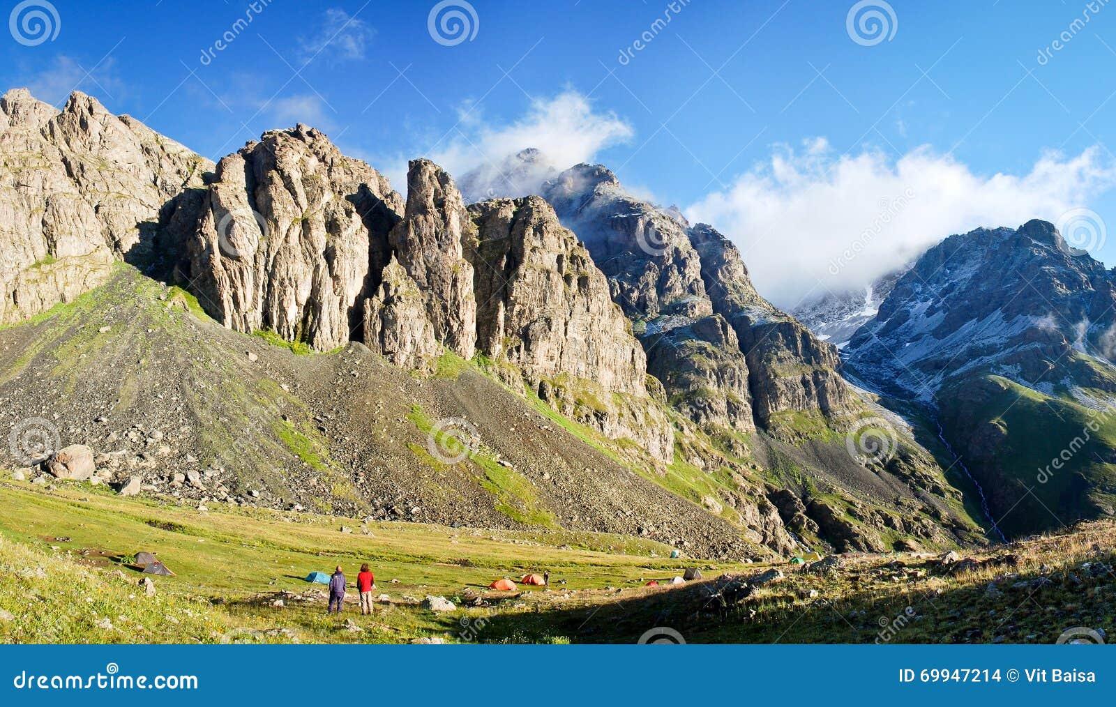 Matin ensoleillé dans les montagnes turques, Kackar Dagi