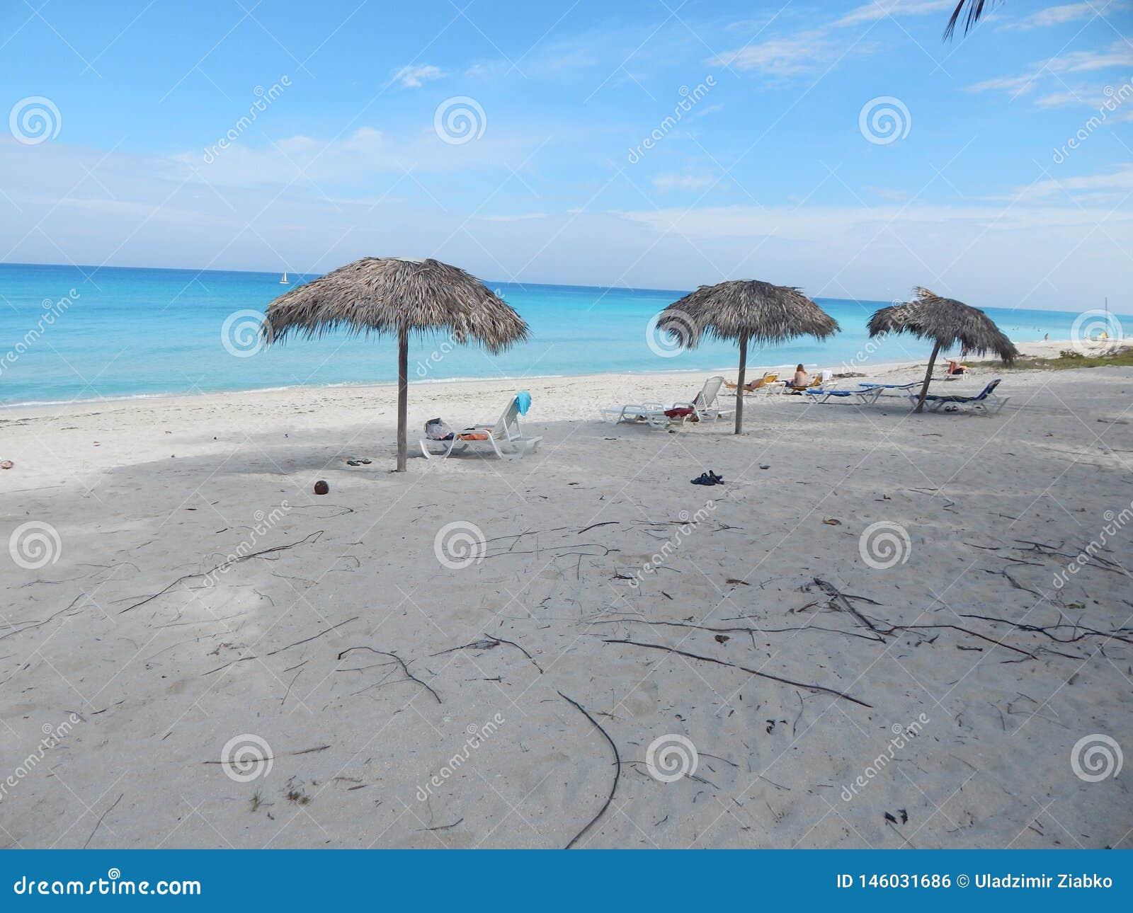 Matin sur la plage Varadero, Cuba